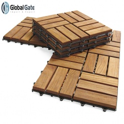 New trend - Wood deck tiles